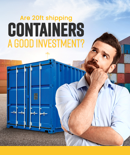 20ft Used Shipping Container for Sale Near Me